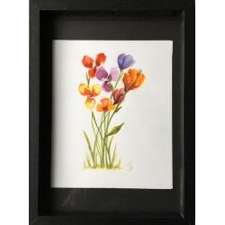 Bouquet nature, peinture...