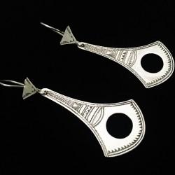 Boucles d'oreilles argent,...